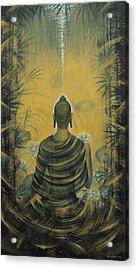 Buddha. Presence Acrylic Print by Vrindavan Das