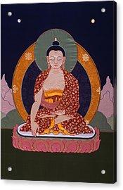 Buddha Shakyamuni Acrylic Print by Leslie Rinchen-Wongmo
