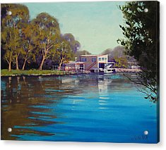 Budgewoi Creek Acrylic Print by Graham Gercken