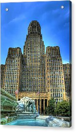 Buffalo City Hall Acrylic Print by Tammy Wetzel