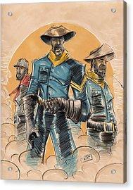 Buffalo Soldiers Acrylic Print by Tu-Kwon Thomas
