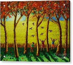 Bugaw Acrylic Print by Paul Hilario