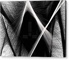 Build Block Acrylic Print by Blaine Bernard