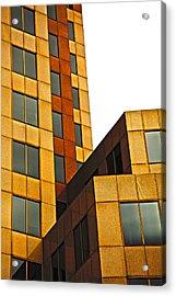 Building Blocks Acrylic Print by Karol Livote