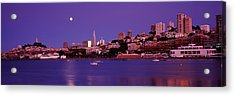Buildings At The Waterfront, San Acrylic Print by Panoramic Images