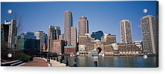 Buildings In A City, Boston, Suffolk Acrylic Print by Panoramic Images