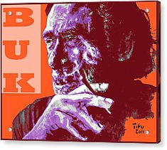 Buk  Acrylic Print by Richard Tito
