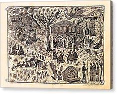 Bulgarian Folk Tales Acrylic Print by Milen Litchkov