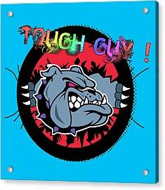 Bulldog 6 Acrylic Print by Mark Ashkenazi