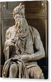 Buonarroti Michelangelo, Tomb Of Giulio Acrylic Print by Everett