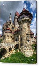 Burg Kreuzenstein  Acrylic Print by Oleksandr Maistrenko