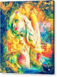 Burning Dream Acrylic Print by Denis Galkin