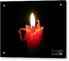 Burnout Acrylic Print by Ann Horn