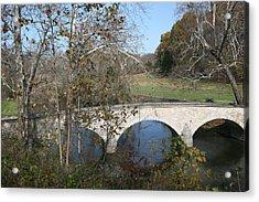 Burnside Bridge Acrylic Print by Jerry Tompkins