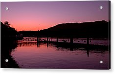 Burrard Inlet Vancouver Acrylic Print by Brian Chase