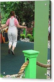 Busch Gardens - Animal Show - 121234 Acrylic Print by DC Photographer