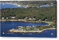 Bush Compound, Kennebunkport Acrylic Print by Dave Cleaveland