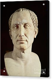 Bust Of Julius Caesar Acrylic Print by Anonymous