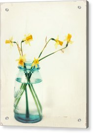 But I Love You Still Acrylic Print by Amy Tyler