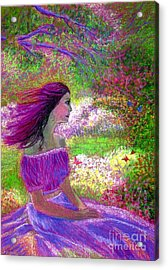 Butterfly Breezes Acrylic Print by Jane Small