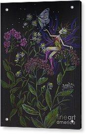Butterfly Acrylic Print by Dawn Fairies