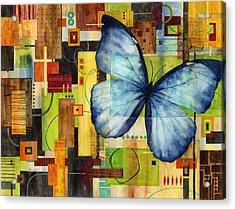 Butterfly Effect Acrylic Print by Hailey E Herrera