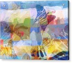 Butterfly Imagination Acrylic Print by Lutz Baar