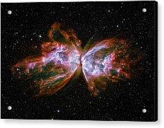 Butterfly Nebula Ngc6302 Acrylic Print by Adam Romanowicz