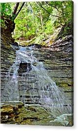 Butternut Falls Acrylic Print by Frozen in Time Fine Art Photography