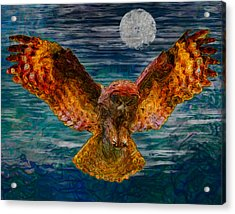 By The Light Of The Moon Acrylic Print by Jack Zulli