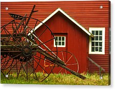 By The Mill House Version 2 Acrylic Print by Jack Zulli
