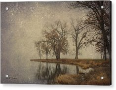 By The Waters Edge Acrylic Print by Jeff Swanson