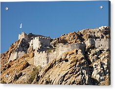 Byzantine Castle Acrylic Print by Ashley Cooper