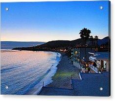 Ca Beach - 121238 Acrylic Print by DC Photographer