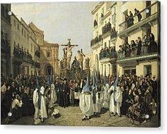 Cabral Bejarano, Manuel 1827-1891 Acrylic Print by Everett