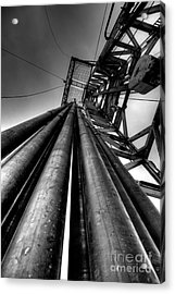 Cac001bw-14 Acrylic Print by Cooper Ross