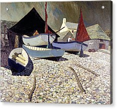 Cadgwith The Lizard Acrylic Print by Eric Hains