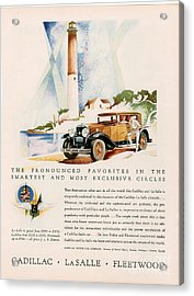 Cadillac La Salle 1929 1920s Usa Cc Acrylic Print by The Advertising Archives
