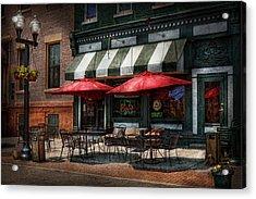 Cafe - Albany Ny - Mc Geary's Pub Acrylic Print by Mike Savad