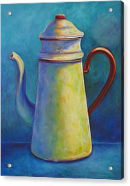 Cafe Au Lait Acrylic Print by Shannon Grissom