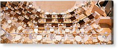 Cafe Dubrovnik Croatia Acrylic Print by Panoramic Images