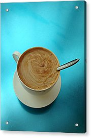 Caffe Americano Acrylic Print by Anna Villarreal Garbis