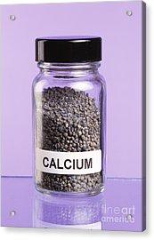 Calcium Acrylic Print by Martyn F. Chillmaid