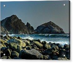 California - Big Sur 013 Acrylic Print by Lance Vaughn