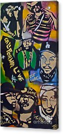 California Love Acrylic Print by Tony B Conscious