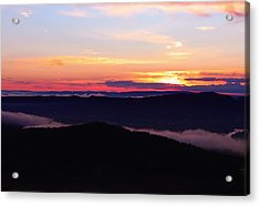 Call Of The Mountains Acrylic Print by Rachel Cohen