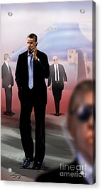 Calling In Hit Markers-smooth Operator 1 Acrylic Print by Reggie Duffie