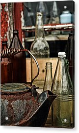 Calling The Kettle Acrylic Print by Karol Livote