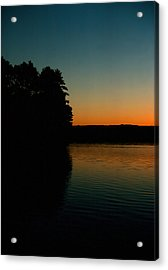 Calm Sunrise Acrylic Print by Ben Kotyuk