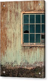 Cambria Barn Acrylic Print by Diana Shay Diehl